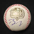 BUSTER POSEY SIGNED AUTOGRAPHED RAWLINGS 2012 WORLD SERIES BALL GIANTS-JSA COA
