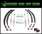 Jeep YJ Wrangler 25 Inch Lift Kit with Leaf Springs and Shocks