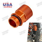 Orange Rear Brake Reservoir Extender For KTM 125 SX EXC 04-19 144 150 SX 08-09