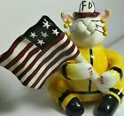 Amy Lacombe Whimsiclay Designs Limited Edition 2001 Figurine Cat