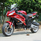 NEW DF50SST 50cc Sport Bike Ninja with GY6 Engine 13 inch large wheel RED