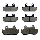 1986-1987 Honda Interceptor 700 VFR700F VFR700F2 Front & Rear Brake Pads