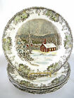 Johnson Brothers England The Friendly Village 5 Dinner or Luncheon Plates School