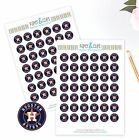 Houston Astros Planner Stickers Perfect for all Planners like Erin Condren