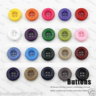 19 colors 7 size 4 Hole Buttons Bulk Job Lot Scrapbooking Card Making Crafting