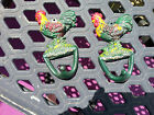 Set of 2 Vintage Cast Iron Rooster Wall Hangings Beautifully Painted