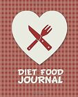 Diet Food Journal  Weight Watchers Food Journal 75x925 Undated Daily Foo