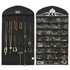 Jewelry Holder Hanging Organizer Earring Necklace Display Storage Bag Wall Rack
