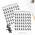 Chicago White Sox Planner Stickers Perfect for all Planners like Erin Condren