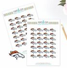 Denver Broncos Planner Stickers Perfect for all Planners like Erin Condren