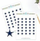 Dallas Cowboys Planner Stickers Perfect for all Planners like Erin Condren