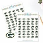 Green Bay Packers Planner Stickers Perfect for all Planners like Erin Condren