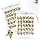 Minnesota Vikings Planner Stickers Perfect for all Planners like Erin Condren