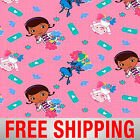 Fleece Fabric Doc Mcstuffins Disney Licensed 60 Wide Free Shipping EE 52513