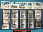 50 sewing machine needles by Schmetz, sorted 70 - 90 Flat piston Needle