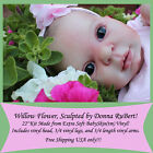 Willow Flower by Donna RuBert 1st Quality reborn doll kit free ship in the USA
