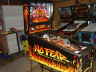 No Fear Pinball Machine, Serviced, Warranty, Shipping Available