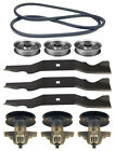 MTD Gold 50 RZT 50 Lawn Mower Deck Parts Kit Spindles Blades Belt FREE Shipping