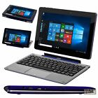 Laptop Tablet Convertible 2 in 1 Computer Windows 10 Netbook 32 GB Keyboard PC