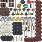 340 Piece Rotary Tool Accessory Kit for Polishing Drilling Grinding Cutting New