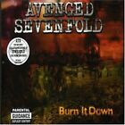 AVENGED SEVENFOLD - Burn It Down - CD ** Very Good condition **