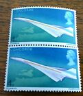 Vintage 2 New Mint Stamps 1969 Concorde UK First Flight GB 4d Stamp Unmounted s