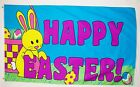 Happy Easter Holiday Flag 3 X 5 Indoor Outdoor Banner