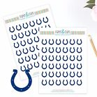 Indianapolis Colts Planner Stickers Perfect for all Planners like Erin Condren