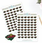 Minnesota Wild Planner Stickers Perfect for all Planners like Erin Condren