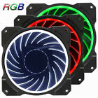 Set of 3 Jonsbo Computer Case Fan Cooler 120mm 6 Pin 256 RGB LED Speed Control