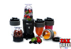 Personal Drink Blender Mixer Protein Shaker Nut Cheese Coffee Grinder 17 Piece