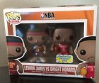 Funko Pop! NBA Lebron James - Dwight Howard 2-Pack Convention Exclusive, New