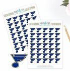 St Louis Blues Planner Stickers Perfect for all Planners like Erin Condren