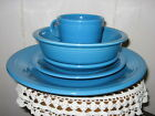 New Fiestaware 5 pc. place setting in PEACOCK-RETIRED-1st Quality-No Box