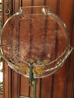 Antique 1920's Fish Bowl Stand - Art Deco with Dragonfly!