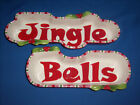 **CLEARANCE** 2006 Fitz Floyd MINGLE Jingle Be Merry~JINGLE BELLS~(B8-10)