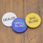 Texas holdem Buttons Poker Chips Small Blind Big Blind Dealer Play Game Tool