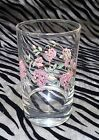 1 Corelle by Corning Pink Wisteria Juice Glass 4 inches tall holds 6oz