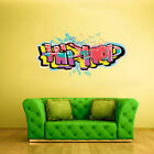 Full Color Wall Decal Sticker Kids Graffiti Words Quote Sign Hip Hop Col701