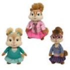TY Beanie Babies - Brittany, Eleanor & Jeanette  Set of 3 Chipettes   Alvin &