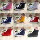Girls High Top Canvas Shoes Boys Kids Sneakers Running Child Casual Walking Shoe