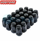 23 1 2 20 Black Lug Nuts for Jeep Wrangler TJ YJ CJ JK Bulge Acorn Lugs