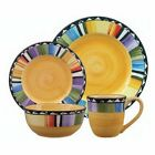 Gibson Fandango 16 pc Dinnerware (Service for 4) - YD Inc.