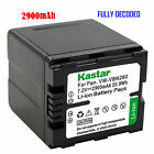 1x Kastar Battery for Panasonic VW VBN260 HC X800 HC X900 HC X900M HC X910