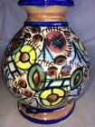Vintage Ceramic Vase Great Colors Great Shape  Says Spain 187