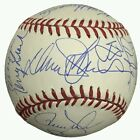 1986 New York Mets team signed official NL baseball signed autographed by 26 JSA