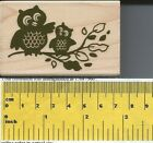 Owl Family Rubber Stamp by Stampabilities