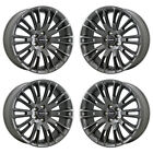 20 CHRYSLER 300 JOHN VARVATOS WHEELS RIMS FACTORY OEM 2015 2016 2017 SET 4 2555