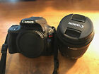 Canon EOS Rebel SL1 100D 180 MP DSLR Camera + 18 55 Lens + Bag + Field Guide