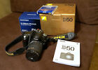 Nikon 61MP D50 Digital SLR w 18 200mm Zoom